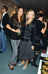 Left to right, AMANDA SHEPPARD and HANNAH SANDLING at Reach 4 Fashion 2005 in aid of the REACH Leukaemia Appeal hosted by designers Sadie Frost and Jemima French of fashion label FrostFrench held at 88 St.James' Street, London SW1 on 8th November 2005.<br />