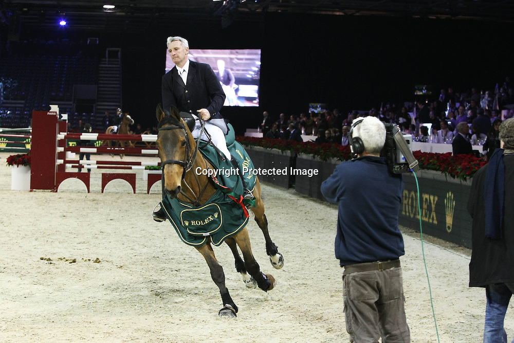 Equitation : Gucci Masters - 03.12.2010 - Rolex Speed Challenge CSI5 - Roger Yves Bost (FRA) *** Local Caption *** 00042820