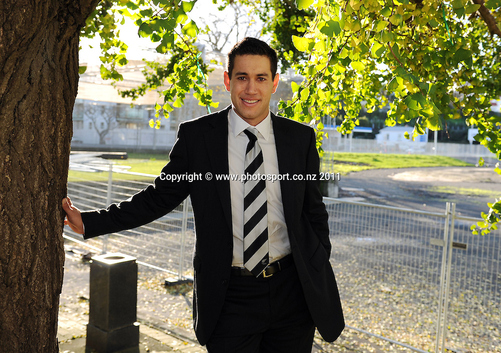 Ross Taylor poses for a portrait after being named NZ Cricket captain. Eden Park, Auckland, Tuesday 21 June 2011. Photo: Andrew Cornaga/Photosport.co.nz