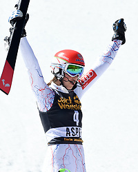 18.03.2017, Aspen, USA, FIS Weltcup Ski Alpin, Finale 2017, Slalom, Damen, im Bild Petra Vlhova (SVK, 1. Platz) // race winner Petra Vlhova of Slovakia during the ladies's Slalom of 2017 FIS ski alpine world cup finals. Aspen, United Staates on 2017/03/18. EXPA Pictures © 2017, PhotoCredit: EXPA/ Erich Spiess