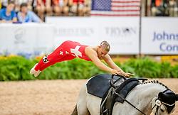 Büttiker Nadja, SUI, Acardi van de Kapel, Lunger Winkler-Bischofberger Monika<br /> World Equestrian Games - Tryon 2018<br /> © Hippo Foto - Stefan Lafrenz<br /> 18/09/18