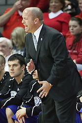 12 January 2013: Mark Phelps during an NCAA Missouri Valley Conference mens basketball game Where the Bulldogs of Drake University beat the Illinois State Redbirds 82-77 in Redbird Arena, Normal IL