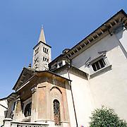 Chiesa di Sant'Ambrogio a Omegna..Sant'Ambrogio church in Omegna