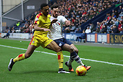 Preston North End Defender Greg Cunningham during the Sky Bet Championship match between Preston North End and Rotherham United at Deepdale, Preston, England on 2 January 2016. Photo by Pete Burns.