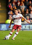 Tony McMahon (29) of Bradford City during the EFL Sky Bet League 1 match between Portsmouth and Bradford City at Fratton Park, Portsmouth, England on 28 October 2017. Photo by Graham Hunt.