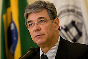 Belo Horizonte_MG, Brasil...I Encontro de Dirigentes das Fundacoes de Apoio das Instituicoes Publicas de Ensino Superior ( IPES ) de Minas Gerais. Na foto o professor Marcio Zanini...1st  Directors meeting of the Support Foundations of Public Institutions of Higher Education (IPES) of Minas Gerais. In this photo the teachear Marcio Zanini...Foto: VICTOR SCHWANER /  NITRO