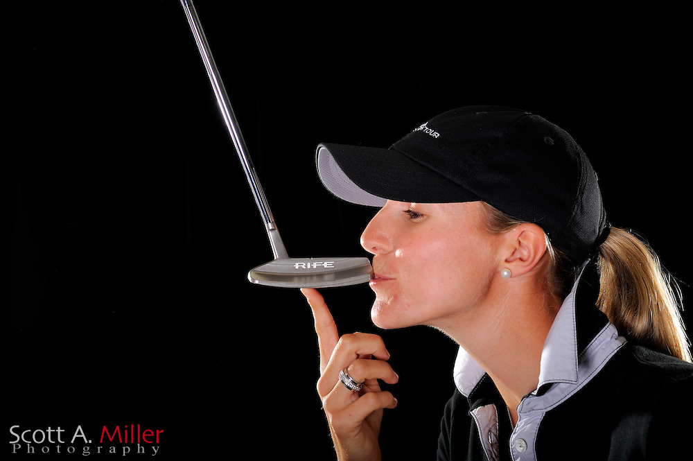 Kelly Froelich during a portrait shoot prior to the LPGA Futures Tour's Daytona Beach Invitational at LPGA International's Championship Courser on March 29, 2011 in Daytona Beach, Florida... ©2011 Scott A. Miller
