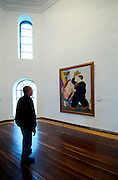 Colombia, Bogota, National Museum of Colombia, Fernando Botero Painting, Tourist, Biggest and Oldest Museum, Built in 1874, Prison until 1946