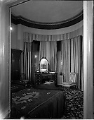1958 - Interior of Ormsby Hotel, 27 Eccles Street, Dublin