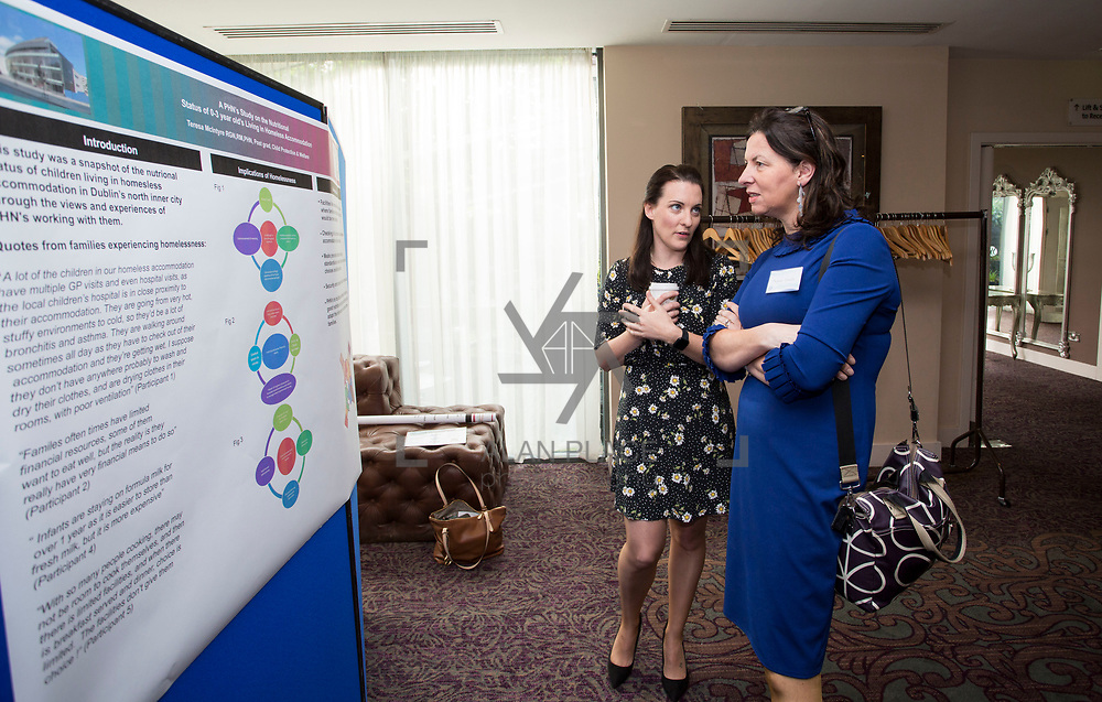 23.05.2018.       <br /> Today, the Institute of Community Health Nursing (ICHN) hosted its&nbsp;2018 community nurse&nbsp;awards in association with&nbsp;Home Instead Senior Care,&nbsp;at its annual nursing conference, in the Strand Hotel Limerick, rewarding public health nurses for their dedication to community care across the country. <br /> <br /> Pictured at the event were, Teresa McIntyre and Margaret Costello. Picture: Alan Place