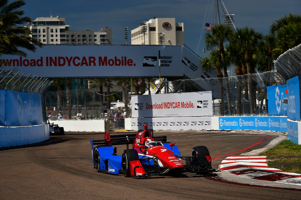 11-13 March, 2016, St Petersburg, Florida USA<br /> 7 Mikhail Aleshin<br /> &copy;2016 Scott R LePage <br /> LAT Photo USA