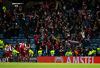 Football - 2019 / 2020 UEFA Europa League - Round of Thirty-Two, First Leg: Rangers vs. Sporting Braga<br /> <br /> Abel Fonte of SC Braga celebrates scoring to make it 2-0, at Ibrox Stadium.<br /> <br /> COLORSPORT/BRUCE WHITE