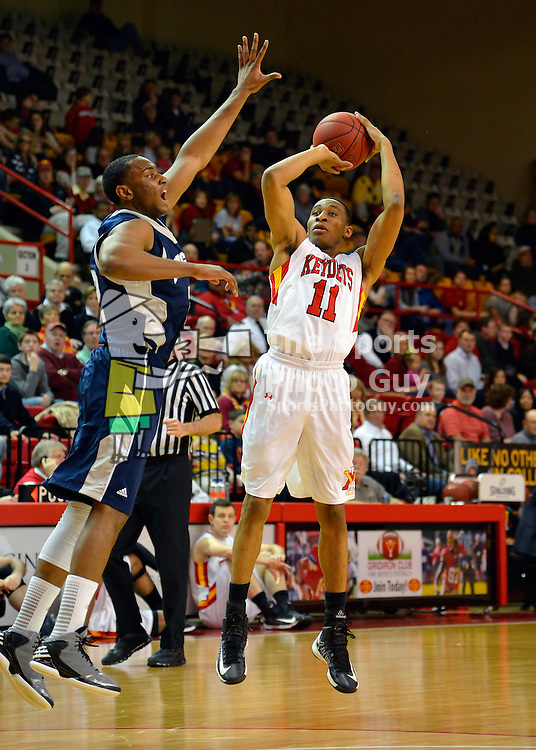 NCAA Men's Basketball: VMI's Stan Okoye scored 30 points and hit 7 of 11 shots from 3-point range in leading VMI to a 94-80 victory over Longwood in his final game in Cameron Hall on Saturday.