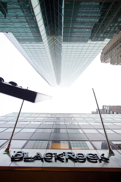 BlackRock headquarters in New York City. ...Photo by Robert Caplin.
