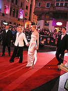 Meryl Streep and Nicole Kidman, Arriving for the Baftas, Leicester Sq. 23  February 2003. © Copyright Photograph by Dafydd Jones 66 Stockwell Park Rd. London SW9 0DA Tel 020 7733 0108 www.dafjones.com