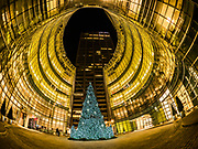 Bloomberg Tower on X-mas, NYC