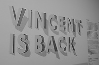 """Vincent is Back"" Van Gogh Exhibit at the Kröller-Müller museum and sculpture garden. Hoge Veluwe National Park in Otterlo, Netherlands. Image taken with a Leica X2 camera (ISO 400, 24 mm, f/3.5, 1/80 sec). In camera B&W."