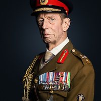 Prince Edward, Duke of Kent is a first cousin of Queen Elizabeth II through their fathers, Prince George, Duke of Kent, and King George VI. He has held the title of Duke of Kent for over 76 years. Recently I had photographed The Duke's brother H.R.H Prince Michael of Kent. Hearing about my work, His Royal Highness commissioned a portrait at St James Palace in London. <br />