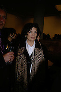 Bianca Jagger, Other,Riyas Komu and Peter Drake. - VIP  launch of Aicon. London's largest contemporary Indian art gallery. Heddon st. and afterwards at Momo.15 Marc h 2007.  -DO NOT ARCHIVE-© Copyright Photograph by Dafydd Jones. 248 Clapham Rd. London SW9 0PZ. Tel 0207 820 0771. www.dafjones.com.