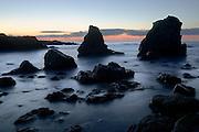 Twilight, Big Sur, California