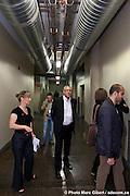 Tournée affaires, parcours VIP, durant les portes ouvertes Design Montréal 2011 par le Bureau du design de la Ville de Montréal. Visite de Blazys Gérard, Rayside Labossière architectes, Atelier Big City, naturehumaine (Plasse Rasselet architectes), NIP Paysage et l'exposition CODE au Centre de design de l'UQAM  -   / Montreal / Canada / 2011-06-03, Photo : © Marc Gibert/ adecom.ca