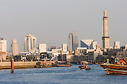Dubai Creek skyline.