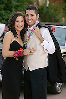 Couple Dressed for Prom