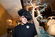 JUDY BLAME, Unveiling of the Dior Christmas Tree by John Galliano at Claridge's. London. 1 December 2009 *** Local Caption *** -DO NOT ARCHIVE-© Copyright Photograph by Dafydd Jones. 248 Clapham Rd. London SW9 0PZ. Tel 0207 820 0771. www.dafjones.com.<br /> JUDY BLAME, Unveiling of the Dior Christmas Tree by John Galliano at Claridge's. London. 1 December 2009
