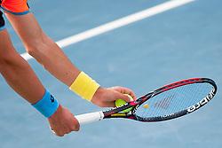 Racket at Round 3 during Day 4 of ATP Challenger Tilia Slovenia Open 2014 on July 10, 2014 in Tennis stadium SRC Marina, Portoroz / Portorose, Slovenia. Photo by Urban Urbanc / Sportida
