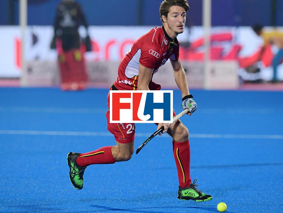 Odisha Men's Hockey World League Final Bhubaneswar 2017<br /> Match id:13<br /> Belgium v India<br /> Foto: Antoine Kina (Bel) <br /> COPYRIGHT WORLDSPORTPICS FRANK UIJLENBROEK