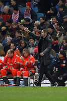 09.12.2012 SPAIN -  La Liga 12/13 Matchday 15th  match played between Atletico de Madrid vs R.C. Deportivo de la Courna (6-0) at Vicente Calderon stadium. The picture show Diego Pablo Simeone coach of Atletico de Madrid