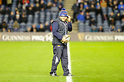 Richard Cockerill before the Guinness Pro 14 2018_19 match between Edinburgh Rugby and Scarlets at BT Murrayfield Stadium, Edinburgh, Scotland on 2 November 2018.