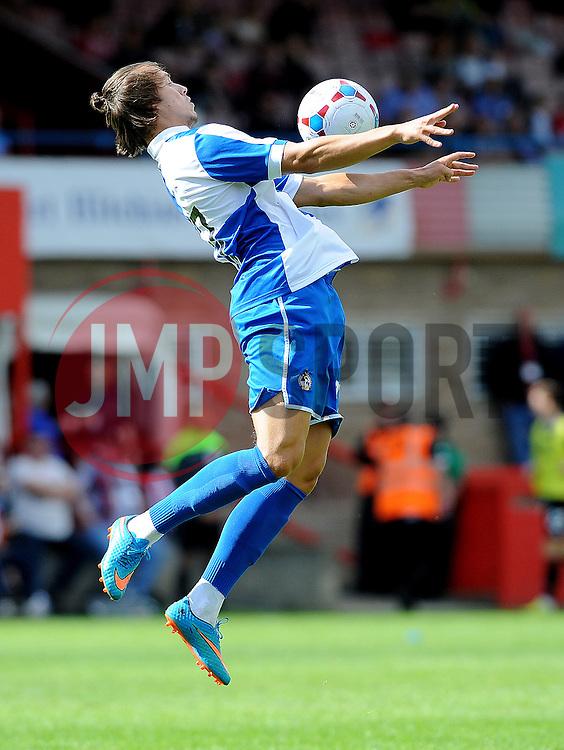 Billy Bodin of Bristol Rovers - Mandatory by-line: Neil Brookman/JMP - 25/07/2015 - SPORT - FOOTBALL - Cheltenham Town,England - Whaddon Road - Cheltenham Town v Bristol Rovers - Pre-Season Friendly
