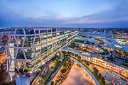 Changi City- Aedas<br /> Mixed-Use Development, Singapore