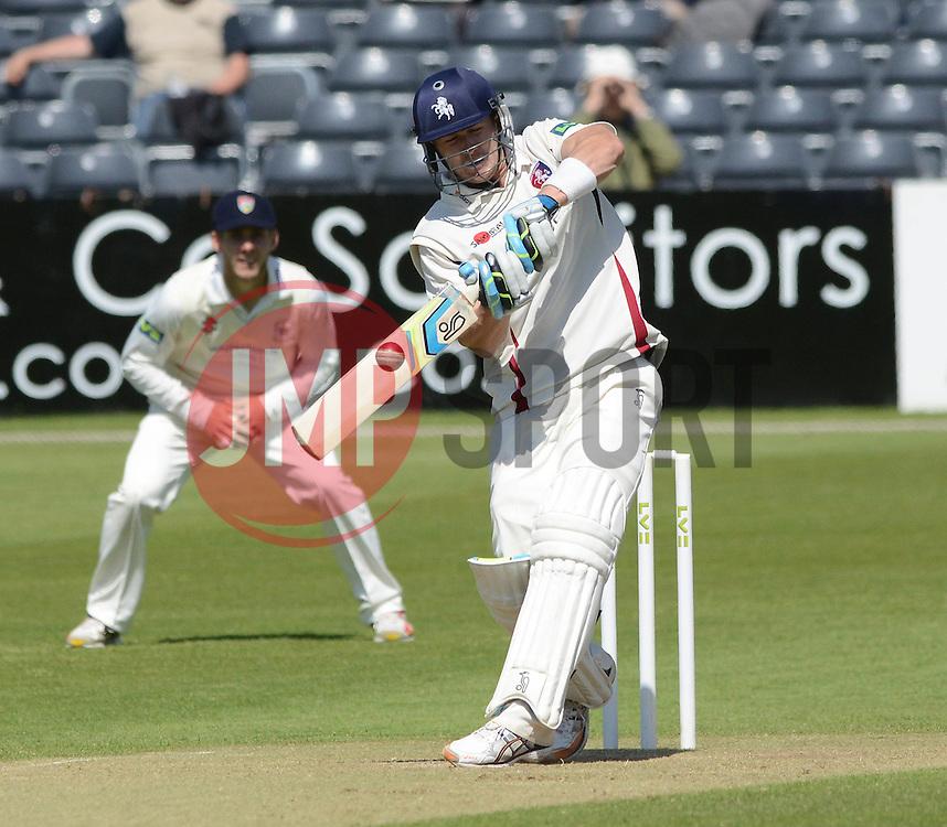 Joe Denly scores a century - Photo mandatory by-line: Dougie Allward/JMP - Mobile: 07966 386802 - 21/05/2015 - SPORT - Cricket - Bristol - County Ground - Gloucestershire v Kent - LV=County Cricket