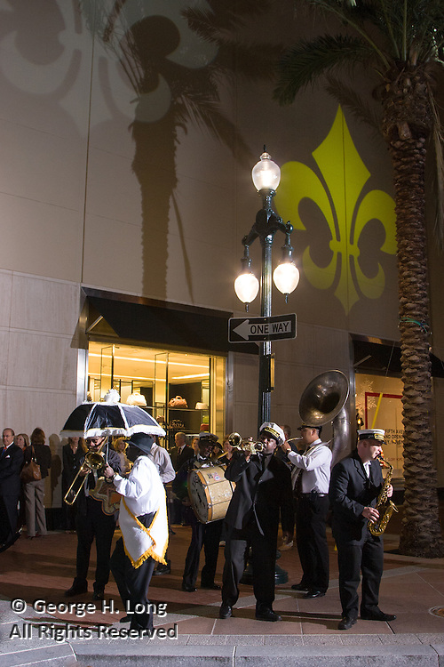 The Treme Brass Band at Saks Fifth Avenue New Orleans Grand Opening