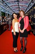 UTRECHT - In de Stadsschouwburg van Utrecht zijn de Gouden Kalveren 2013 uitgereikt. Met hier op de foto  Mariana Aparicio Torres. FOTO LEVIN DEN BOER - PERSFOTO.NU