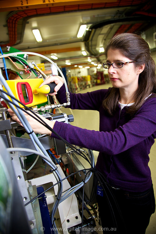 Dr Louise Hearder, Accelerator Operator, Accelerator Science and Operations, Australian Synchrotron