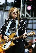 Tom Petty performs at Live Aid - 1985