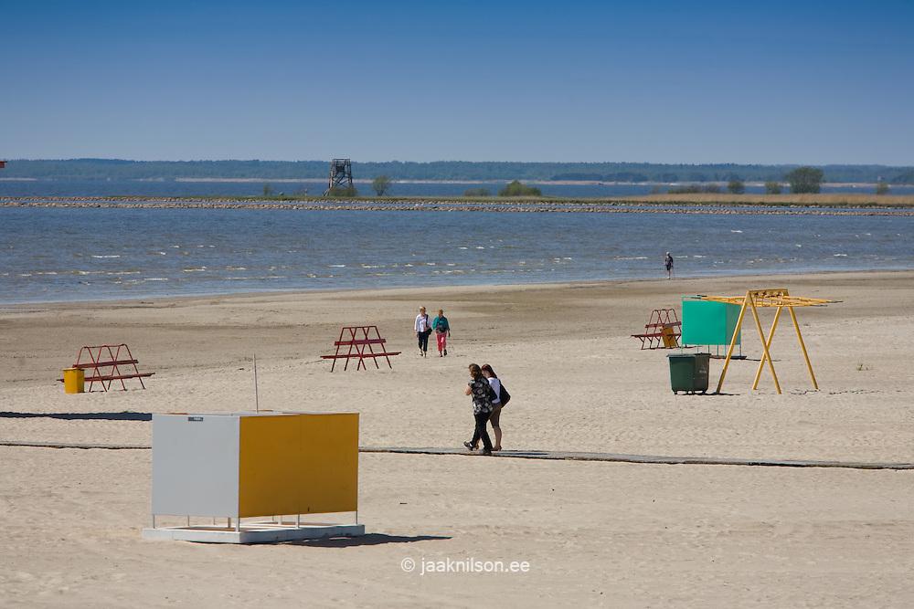 Pärnu Beach; Estonia, Europe