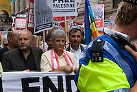 "Stop the Onslaught on Lebanon..LONDON 22 July 2006. Over 7,000 people joined a street protest against Israel's attacks on Lebanon...""The Israeli assault is now spreading to all regions including the mountains and the north. The damage is enormous and the death toll is rising. This only indicates the scale of the attacks and the advanced weaponry the Israelis are using. Only looking at the infrastructure ruins you can see how powerful they are. We are under siege from all directions - air, sea and land."" Eyewitness account from a socialist in Lebanon"