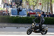 FILMING 'IMPOSSIBLE MISSION' 6 'WITH TOM CRUISE IN THE STREETS OF PARIS,<br /> ©Exclusivepix Media