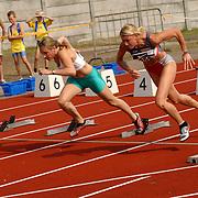Arenagames 2004, 100 meter horden dames, Sofie Vanackeren(256)