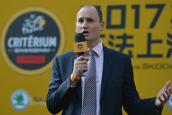 October 28, 2017 - Shanghai, China - Jean-Etienne AMAURY, the President of SSO (Amaury Sport Organisation), during the 1st TDF Shanghai Criterium 2017 - Media Day..On Saturday, 28 October 2017, in Shanghai, China. (Credit Image: © Artur Widak/NurPhoto via ZUMA Press)