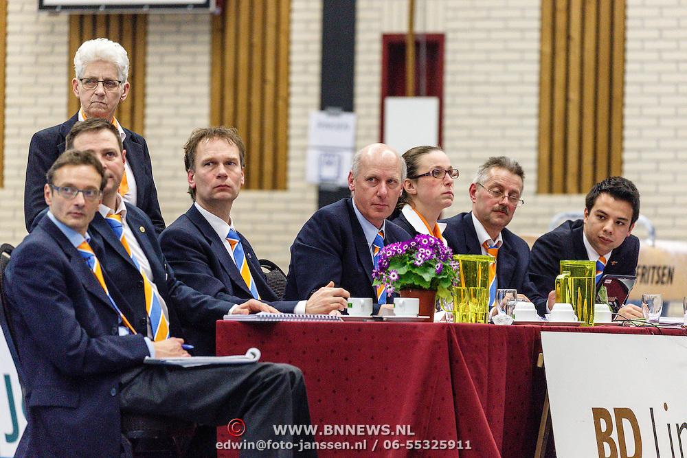 NLD/Nijverdal/20160305 - Turninterland Nederland - Spanje, jury