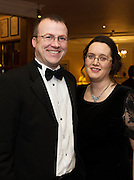 At the SCSI, (Society of Chartered Surveyors Ireland) - Western Region Annual Dinner 2016 in the Ardilaun Hotel Galway were Tomas and Patricia Kelly, AECOM. Photo:Andrew Downes, xpousre