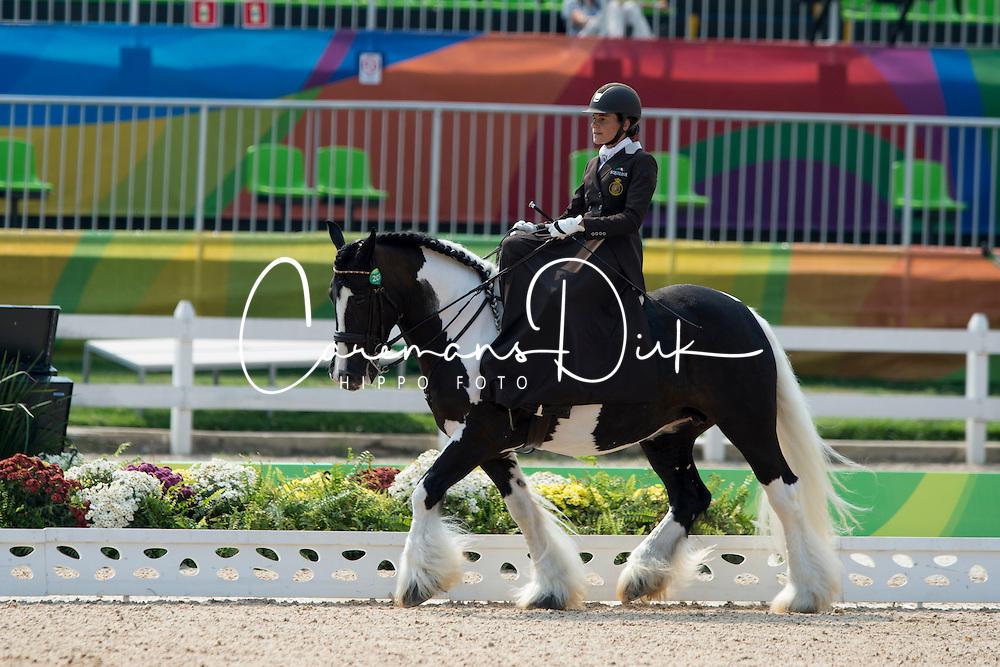 Minneci Barbara, BEL, Barilla<br /> Ind. - Grade II - Dressage <br /> Rio 2016 Paralympic Games<br /> &copy; Hippo Foto - Jon Stroud<br /> 15/09/16