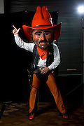 DALLAS, TX - JULY 22:  Oklahoma State mascot Pistol Pete poses for a portrait during the Big 12 Media Day on July 22, 2014 at the Omni Hotel in Dallas, Texas.  (Photo by Cooper Neill/Getty Images) *** Local Caption *** Pistol Pete