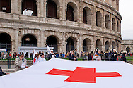 Roma 21 Febbraio 2015<br /> Manifestazione nazionale dei lavoratori della Croce Rossa Italiana per la tutela dei posti di lavoro e contro la privatizzazione della Croce Rossa.<br /> Rome February 21, 2015<br /> National demonstration of workers of the Italian Red Cross for the protection of jobs and against the privatization of the Red Cross.