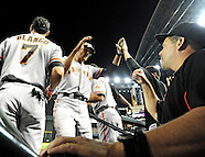 MLB: San Francisco Giants at Arizona Diamondbacks//20120904